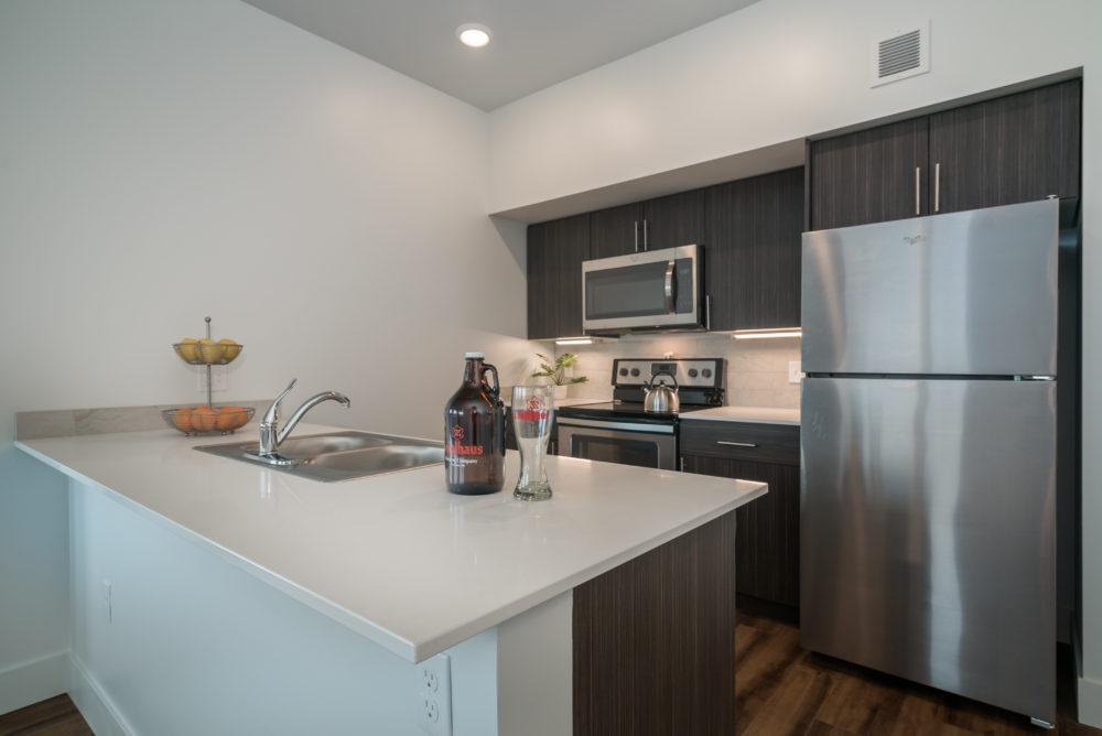 big kitchen apartment