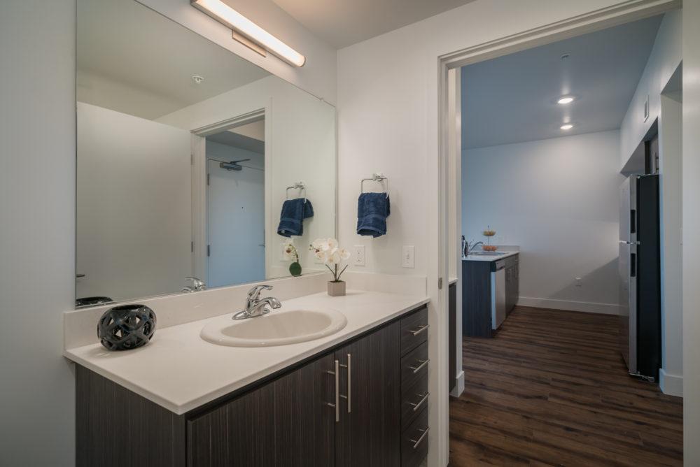big bathroom apartment Portland